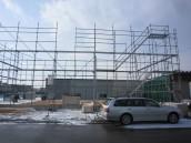 土台引き-建て込み開始