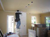 キッチンを設置する準備-換気扇のダクト工事