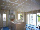 室内壁・天井パテ処理